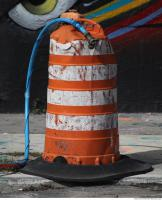 road cone damaged 0003