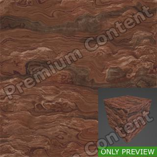 PBR substance preview red rock