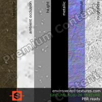 PBR substance texture ground soil