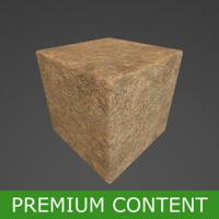 PBR Substance Material of Small Stone