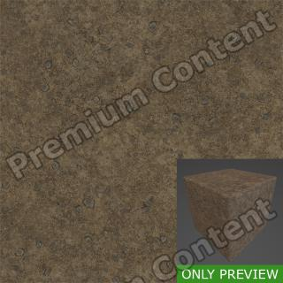 PBR substance preview ground cracks