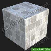 PBR substance preview floor tiles 0001
