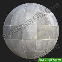 PBR substance preview floor tiles 0002