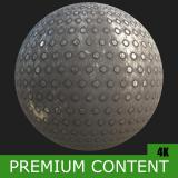 PBR Substance Material of Metal Floor Rusty #2