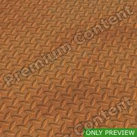 PBR substance preview metal floor rusty 0005