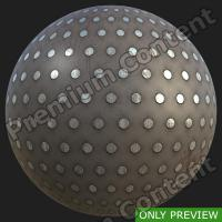 PBR substance preview metal floor rusty 0002