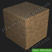 PBR substance preview ground stone 0001