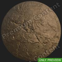 PBR substance preview ground stone 0002