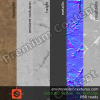 PBR substance texture ground stone