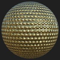 PBR Substance Material of Gold #2
