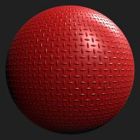 PBR Substance Material of Metal Floor Painted