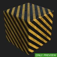 PBR substance preview concrete stripes painted 0001