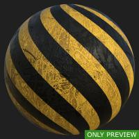 PBR substance preview concrete stripes painted 0002