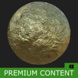PBR Substance Material of Gold #6