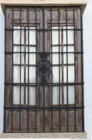 wooden double doors ornate 0003