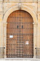 wooden double doors ornate 0004
