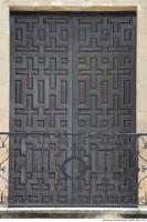 wooden double doors ornate 0001