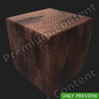 PBR substance preview metal floor rusty 0004