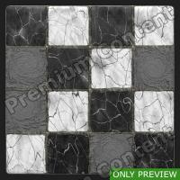 PBR marble floor damaged texture 0002