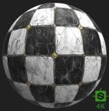 PBR Substance Material of Floor Marble #2