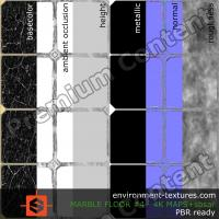 PBR substance texture marble floor
