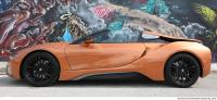 vehicle car BMW i8 0005