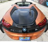 vehicle car BMW i8 0015