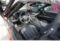 vehicle car interior BMW i8 0002