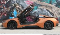 vehicle car BMW i8 0021