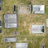 Photo Textures of Ground Cemetery