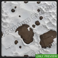 PBR ground snowy stone preview 0002