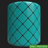 PBR wall tiles glossy preview 0003