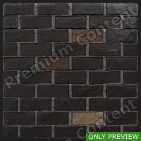 PBR wall bricks old preview 0002