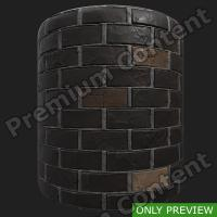 PBR wall bricks old preview 0003
