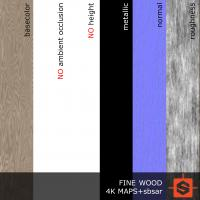 PBR wood texture DOWNLOAD