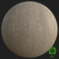PBR Texture of Fine Wood