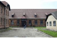 Auschwitz concentration camp building 0004