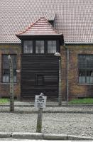 Auschwitz concentration camp building 0006
