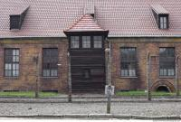 Auschwitz concentration camp building 0007
