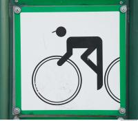 pedestrian traffic sign 0007