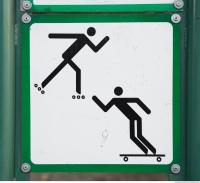 pedestrian traffic sign 0008