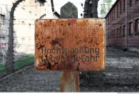 Auschwitz concentration camp sign 0001