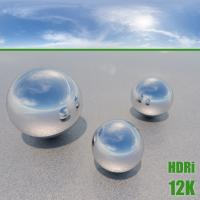 Photo Texture of HDRi Blue Clouded Skydome