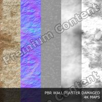 PBR texture of wall plaster damaged DOWNLOAD