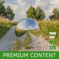 Panorama HDR  360° background nature