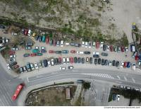 view from above object parking cars 0012