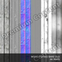 PBR Texture of Wood Planks Old DOWNLOAD
