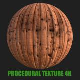 PBR Texture of Wood Planks Old #3