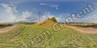 Panorama HDR background nature