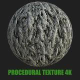 PBR Texture of Tree Bark #4
